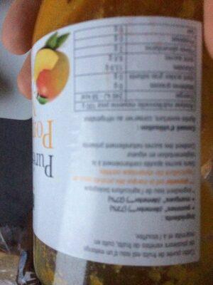 Purée Pommes Mangues - Ingrédients - fr