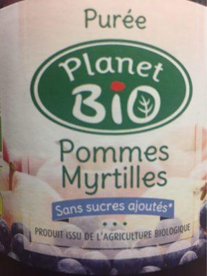 Puree pommes myrtilles - Product