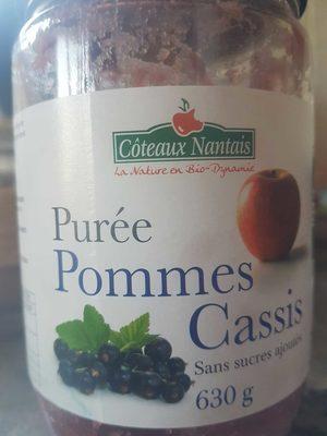 Purée Pomme Cassis - Produit - fr
