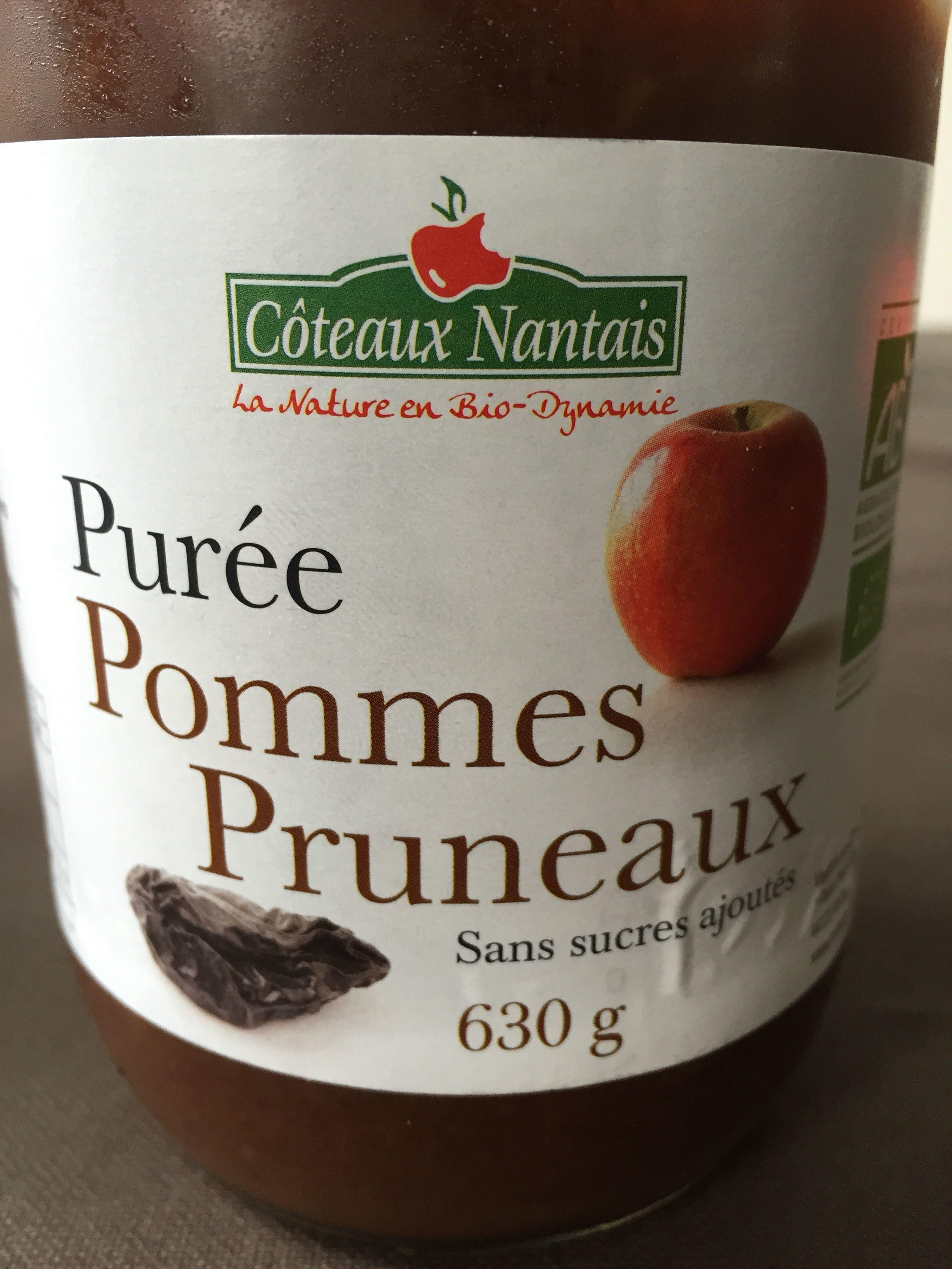 Purée Pomme Pruneaux - Côteaux Nantais - 630 G - Product