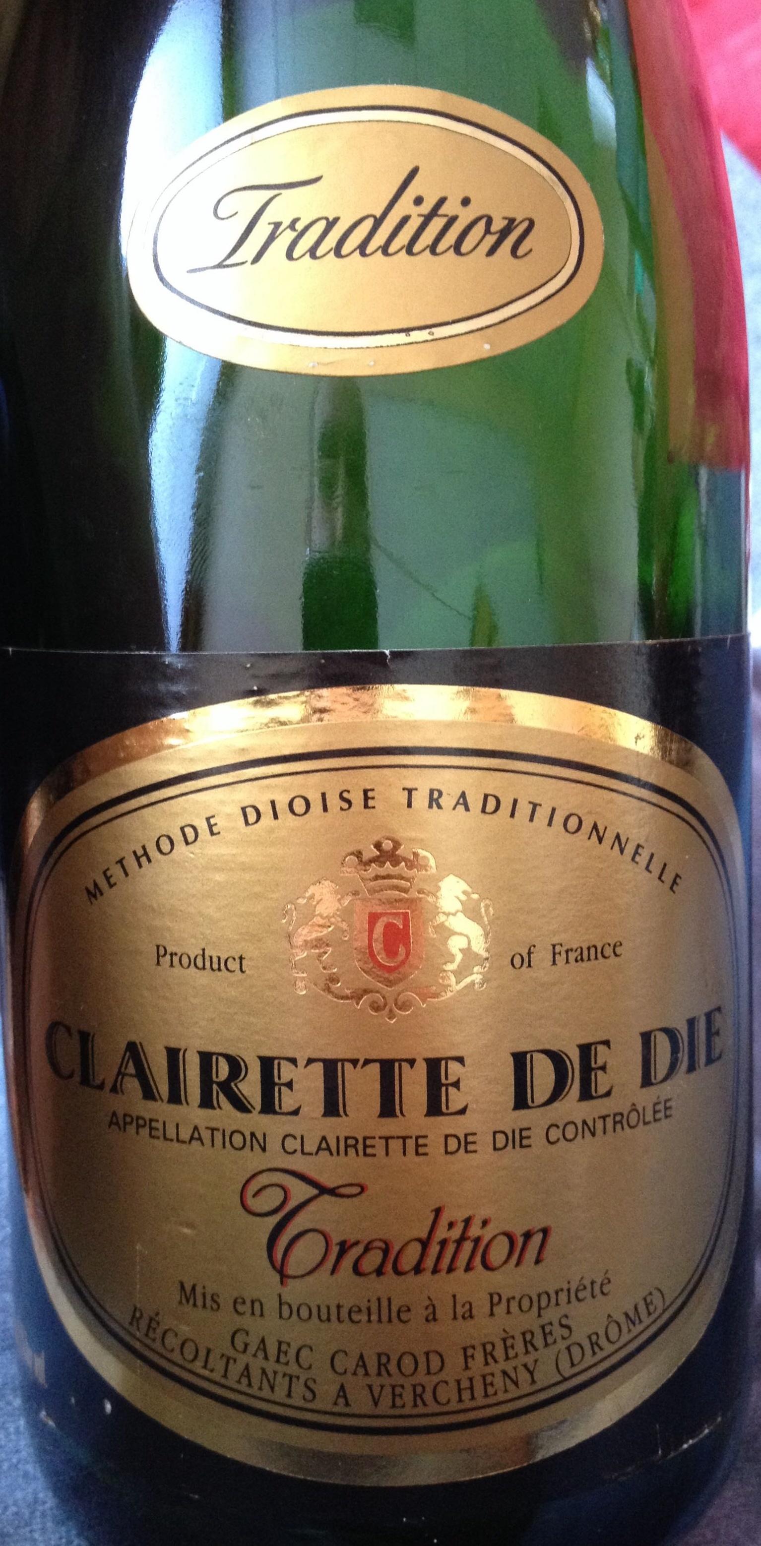 Clairette de Die Tradition - Produit - fr
