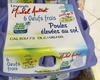 Oeufs frais poules élevées au sol - Product