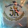 10 Feuilles de Brick - Produit
