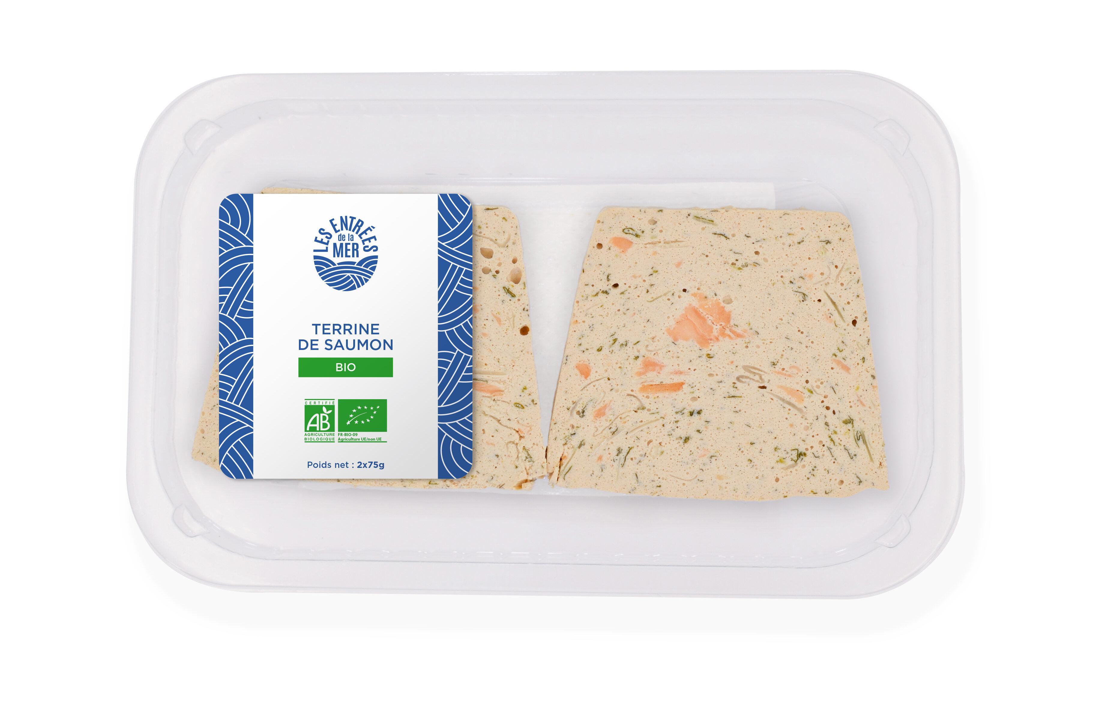 Terrine de saumon Bio - Produit - fr