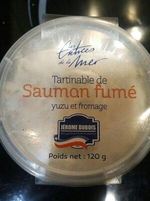 Tartinable de saumon fumé