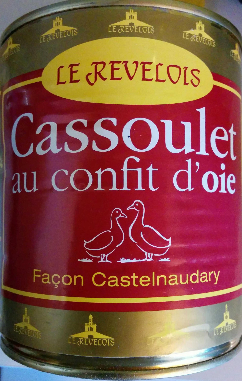 Cassoulet au confit d'oie - Façon Castelnaudary - Produit - fr