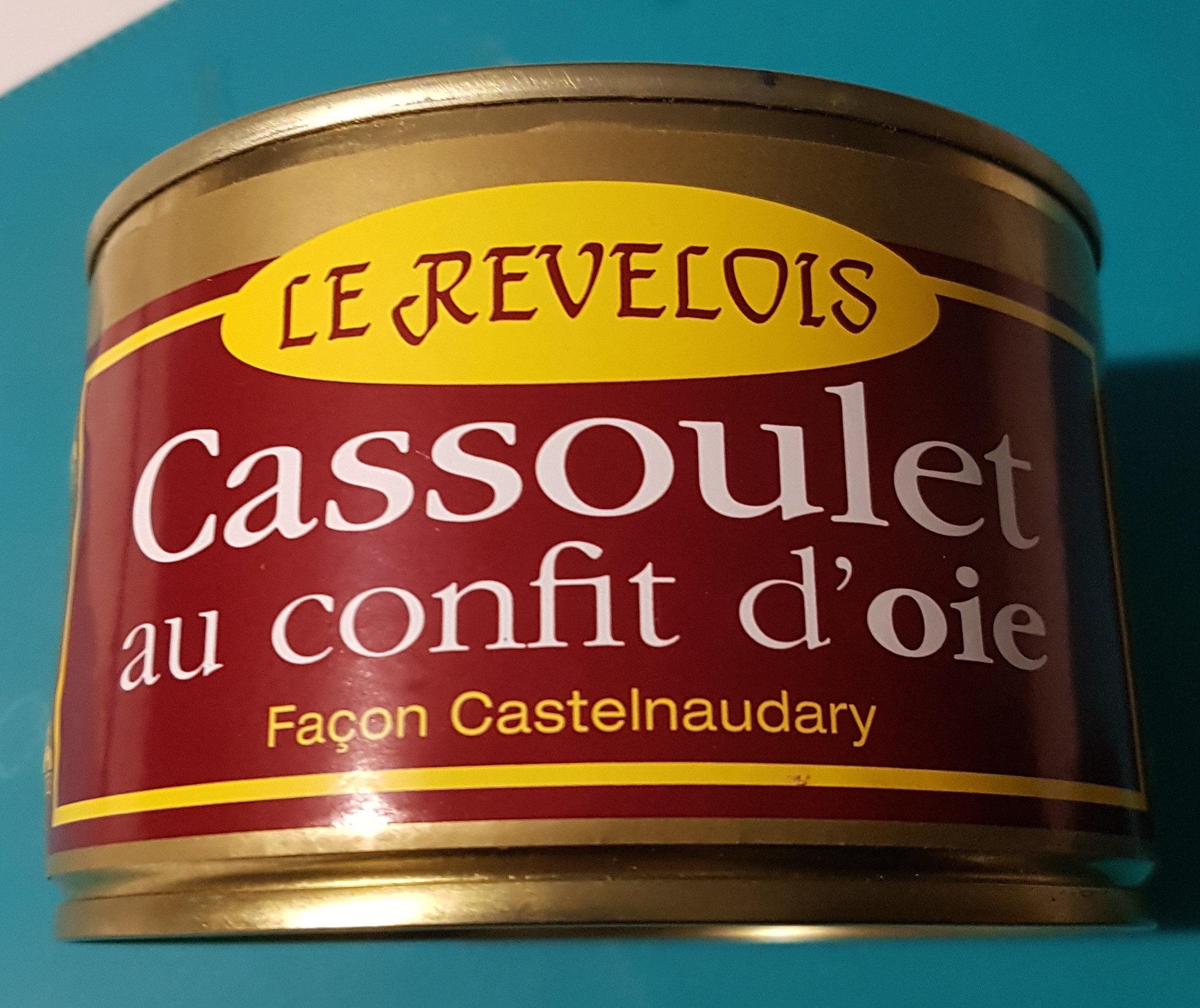 Cassoulet au confit d'oie façon Castelnaudary - Product - fr