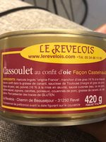 Cassoulet au confit d'oie façon Castelnaudary - Ingrediënten - fr