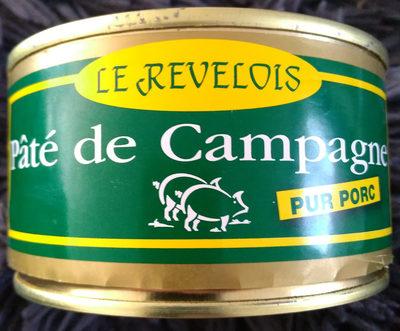 Le Revelois pâté de campagne pur porc - Produit - fr