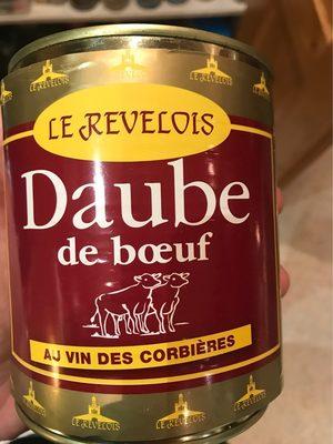 Daube de boeuf au Corbieres LE REVELOIS - Informations nutritionnelles - fr