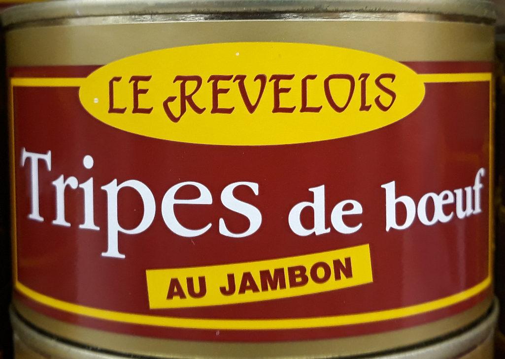 Tripes Au Boeuf Et Jambon - Produit - fr