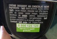 Petites crèmes au four caramel - Ingrédients - fr