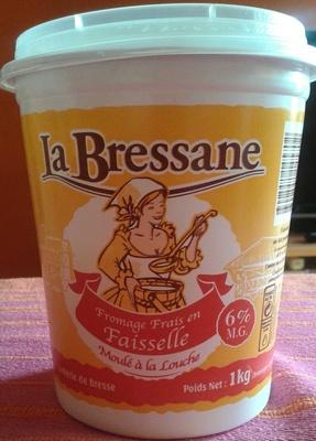 Fromage Frais en Faisselle (6 % MG) - Produit - fr