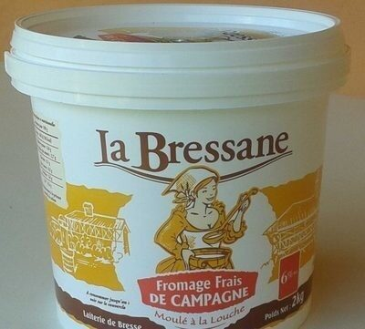 Fromage frais de campagne (6% MG) - Prodotto - fr