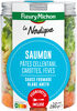 SALAD JAR - La Nordique - Saumon, pâtes cellentani, carottes, fèves, sauce au fromage blanc et aneth - Produit