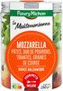 SALAD'JAR - La Méditéranéenne - Mozzarella, pâtes, poivrons, tomates, graines de courge, sauce balsamique - Produit
