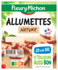 Allumettes de Lardons Nature, -25% de SEL* 2*75 g, - Product