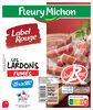 Les Lardons fumés Label Rouge, -25% de Sel* 2 x 70g - Product