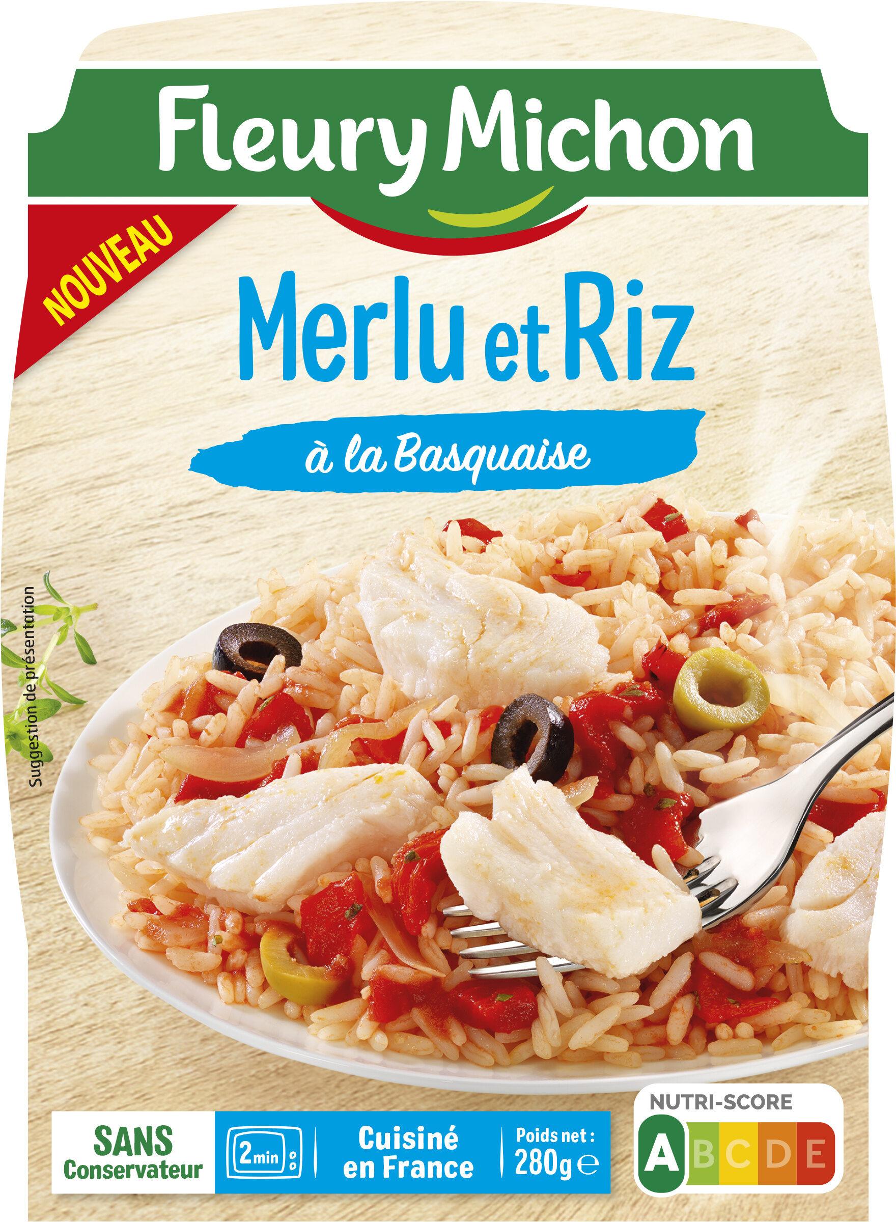 Merlu Et Riz A La Basquaise Fleury Michon 280 G