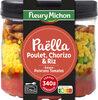 Paëlla poulet, chorizo, riz, sauce poivrons tomates - Produit