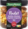 Poulet, nouilles chinoises, légumes croquants, sauce soja - Product