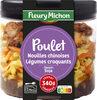 Poulet, nouilles chinoises, légumes croquants, sauce soja - Produit