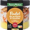 Poulet, riz au pavot & carottes sauce curry jaune - Product