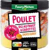 Poulet riz au pavot & carottes sauce curry - Producto