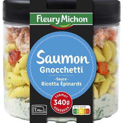 Saumon & gnocchetti, sauce ricotta épinards - 23
