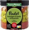Poulet, conchiglie au basilic, mozzarella, sauce tomates - Produit