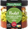 Poulet, conchiglie au basilic, mozzarella, sauce tomates - Product