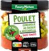 Poulet, conchiglie au basilic & mozzarella, sauce tomates - Produit