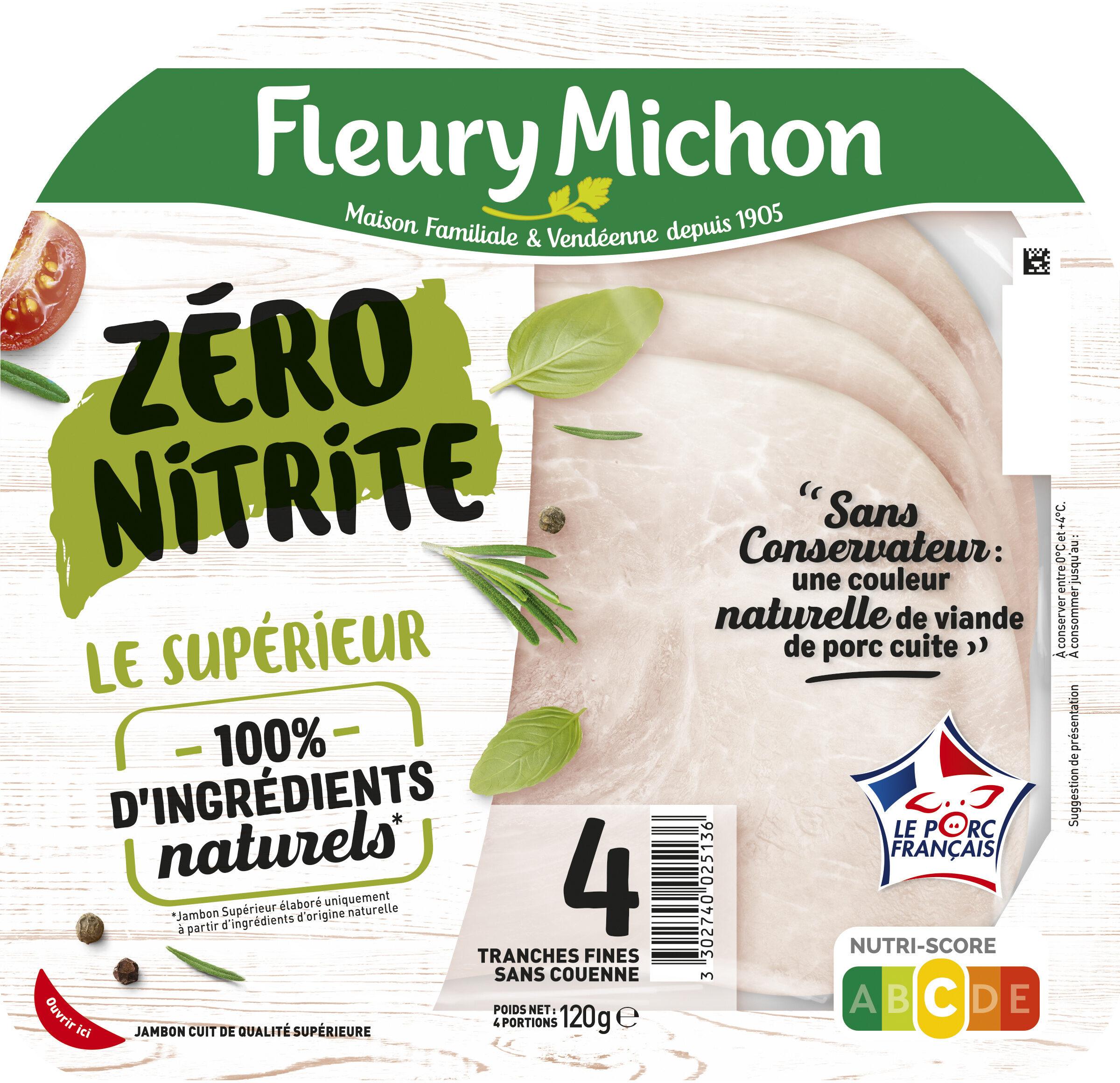 LE JAMBON ZERO NITRITE - 4 tr - Prodotto - fr
