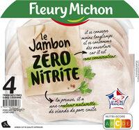 LE JAMBON ZERO NITRITE - 4 tr - Product - fr