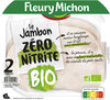 Jambon Supérieur sans couenne Bio - 2 tranches - Produit