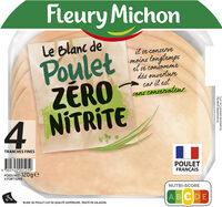 Le Blanc de Poulet ZERO NITRITE - Product - fr