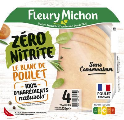 Le Blanc de Poulet ZERO NITRITE - Prodotto - fr