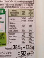 Le coeur frais fromage ail et fines herbes - Valori nutrizionali - fr