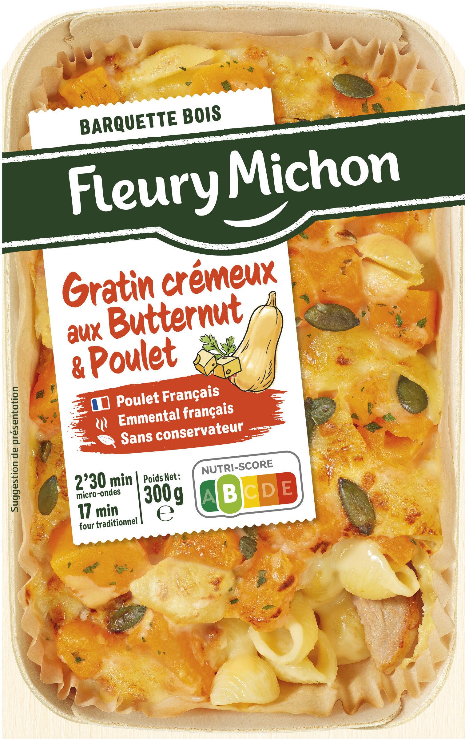 Gratin crémeux aux butternut & poulet - Product