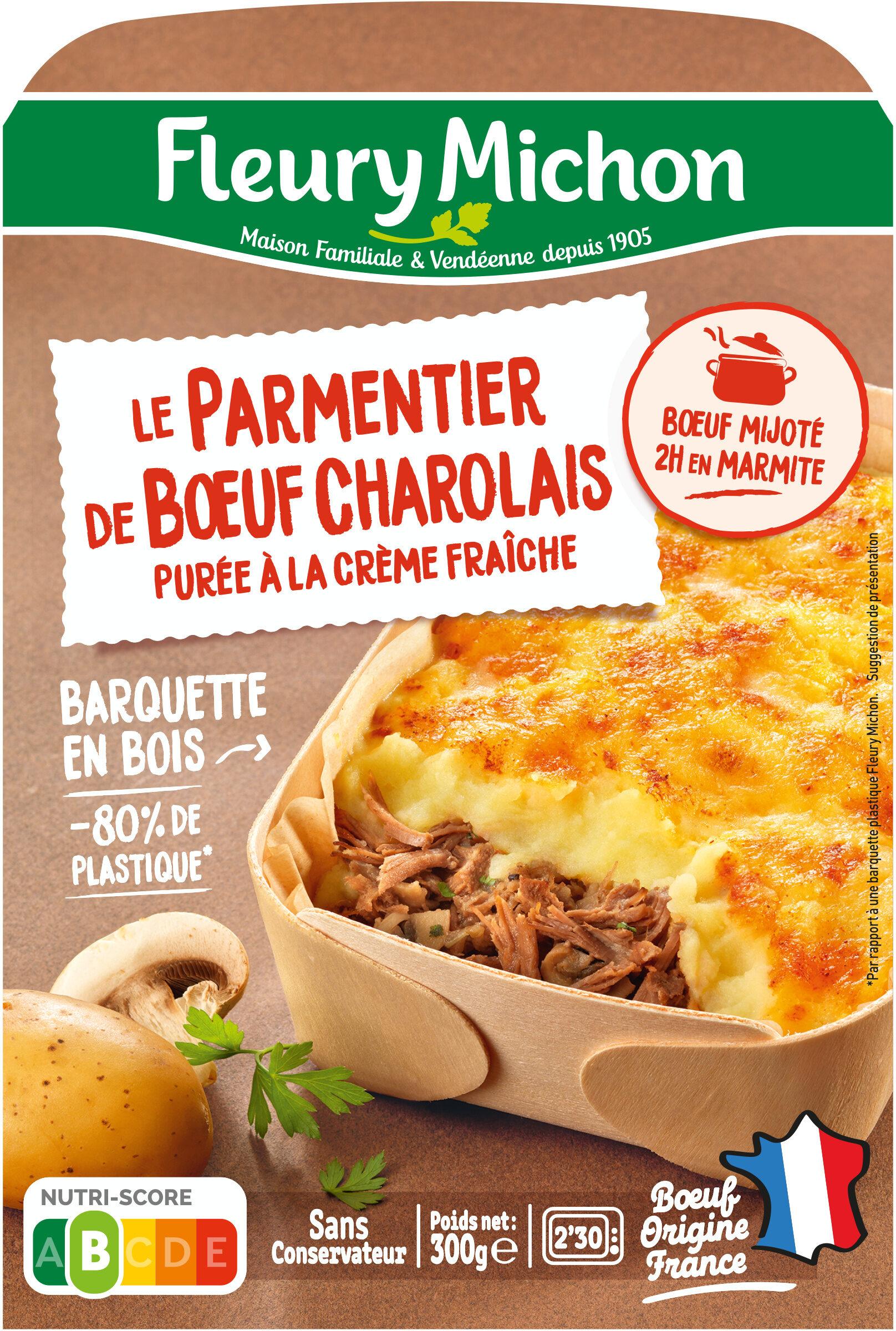 Le Parmentier de Boeuf Charolais purée à la crème fraîche - Product - fr