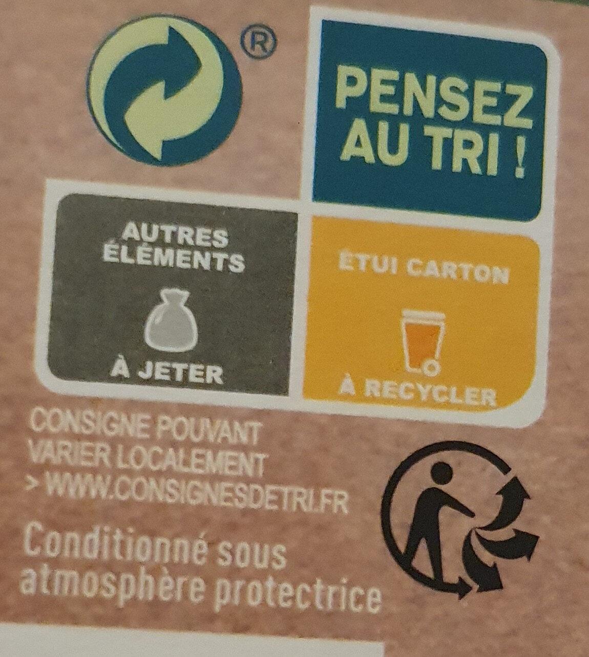 Le Parmentier de Boeuf Charolais purée à la crème fraîche - Istruzioni per il riciclaggio e/o informazioni sull'imballaggio - fr