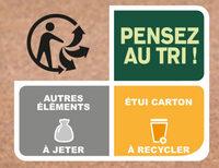 Le Parmentier de Boeuf Charolais purée à la crème fraîche - Recycling instructions and/or packaging information - fr