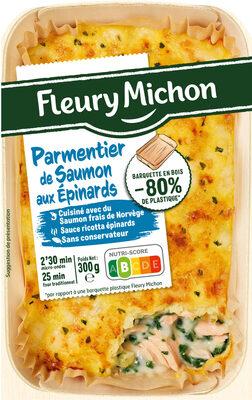 Parmentier de Saumon aux Épinards - Product - fr