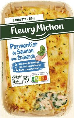 Parmentier de saumon aux épinards - Product