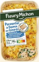 Parmentier de Saumon aux Épinards - Produit - fr
