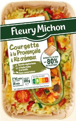 Courgettes à la Provençale et Riz crémeux - Produit - fr