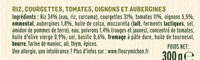 Courgettes à la Provençale et Riz crémeux - Ingrédients - fr
