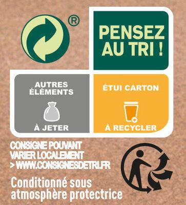 La tartiflette au Reblochon cuisinée aux petits oignons - Instruction de recyclage et/ou informations d'emballage - fr