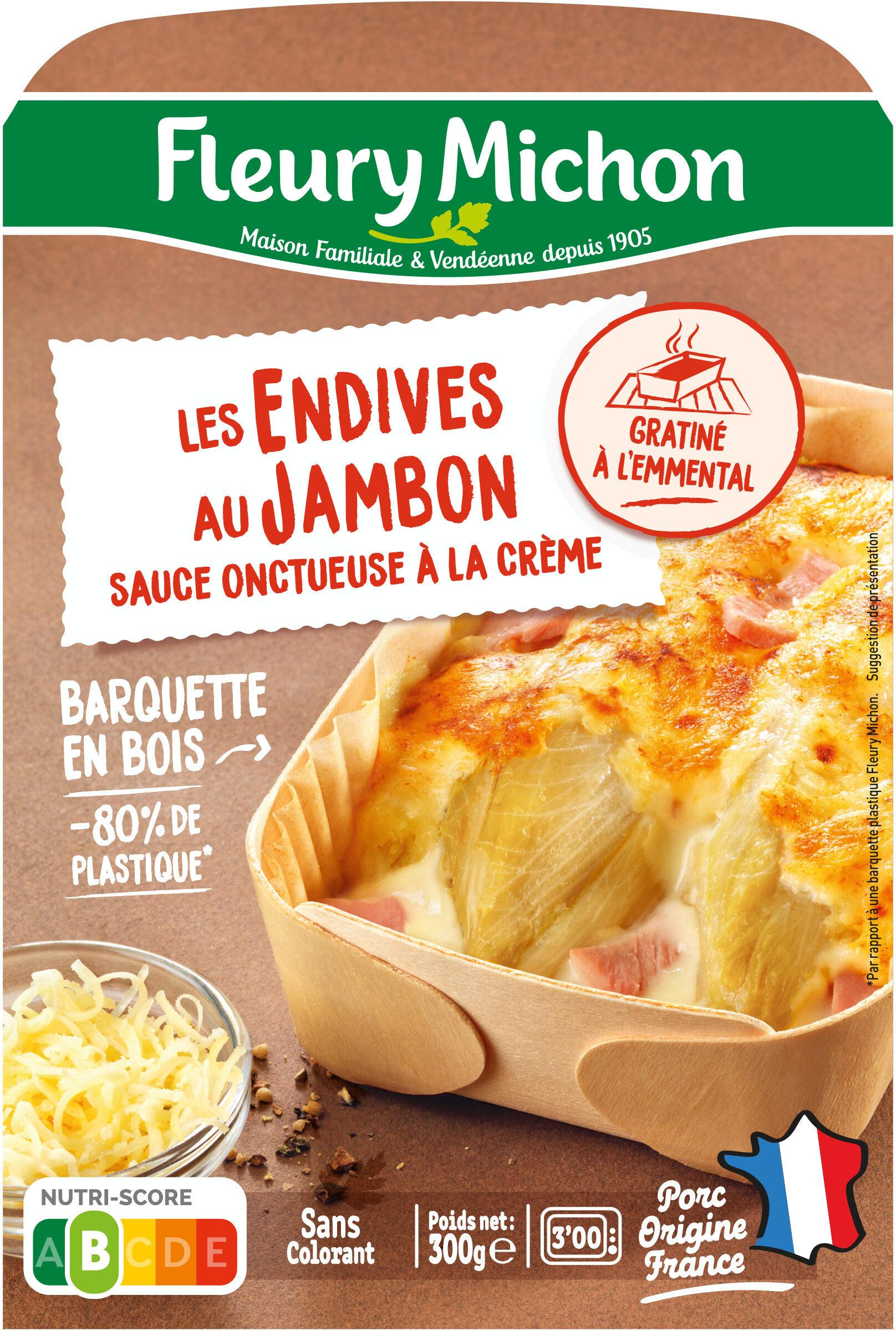 Les Endives au Jambon sauce onctueuse à la crème - Produit - fr
