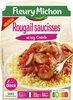 Rougail saucisses et riz créole - Produit